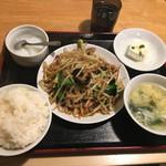 金縁 - 野菜炒め650円