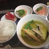 パーラー ポジポジ - 料理写真:グリーンカレー  600円
