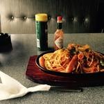 フラワー - 料理写真:フラワー・ナポリタン¥550