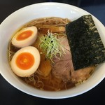64095993 - 中華そば(税別780円)+半熟味たまご(税別150円)