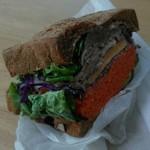 64097276 - ローストビーフサンドイッチ