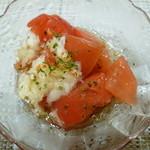カレーショップトップス - セットのトマトサラダ(S)