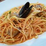 64098875 - 海の幸スパゲティ トマトソース
