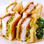 米澤豚一番育ちのカツサンド