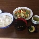 一茶 - 料理写真:野菜炒めライス