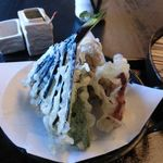 そばの杜 - 野菜の天ぷら