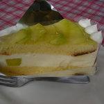 SEAK CAFE - メロンのケーキ