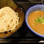 麺屋 中川會 - 濃厚魚介つけめん(並盛200g)
