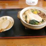 庄屋うどん - 料理写真:鍋焼きうどん