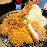 かつアンドかつ - 料理写真:海老フライ盛り合わせランチ