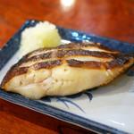 加乃季節料理 - カラスカレイ西京焼 ¥980