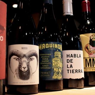 2000円均一~のボトルワイン