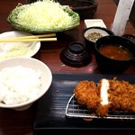新宿さぼてん - 健美豚 ロースかつ定食(130g)