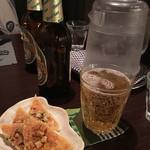 うぺぽ - ビールセットのツマミ