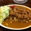 キッチン すみっこ - 料理写真:「カツカレー大盛り」(900円)
