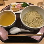 64109150 - 「塩つけ麺~浅利出汁かけ~」1100円