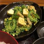 竹富島 - ゴーヤチャンプル