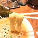 大澤麺工房 一葵 - 平打ち麺リフトアップ!