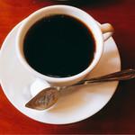 喫茶 タンネの森 - ドリンクセットの炭焼珈琲