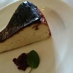 アン・プティ・ポン - チーズケーキも抜群!(写真があまりきれいに撮れなかったけど)