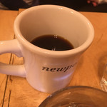 ニューポート - コーヒーが最初からこの量