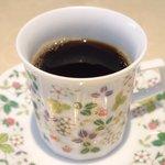 64113144 - ランチセット 880円 のコーヒー
