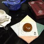 清芳亭 - 湯の花饅頭
