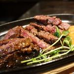 肉バルキッチン - ☆【肉バルキッチン片町店】さん…肉厚ハラミステーキ(≧▽≦)/~♡☆