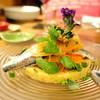 オー・ペシェ・グルマン - 料理写真:イワシのマリネ、コリアンダー風味クスクスサラダ添え1,100円+税