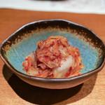 肉匠堀越 - キムチ