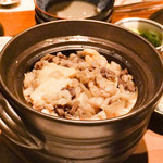 肉匠堀越 - ホルモン炊き込みご飯