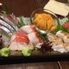 岳志 - 料理写真:刺身盛り合わせ