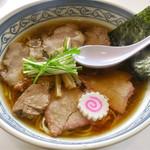 手打ち工房 凌駕 - 「手打ちチャーシュー麺(醤油)」(880円)