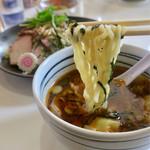 手打ち工房 凌駕 - 「チャーシューワンタン手打ちつけ麺」(980円)
