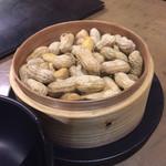 鐘楼 - 茹でピーナッツ