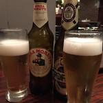 オステリア パージナ - イタリアのビール
