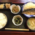 瑞穂 - 焼きサバ定食