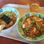きょう和はんてん - 料理写真:中華飯定食 850円