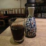 ボタン - 黒ウーロン茶
