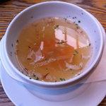 6413353 - 前菜のコンソメスープ