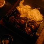 6413648 - 宮崎地頭鶏のもも炭火焼