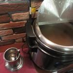俺たちのナポリタン - ランチタイムはスープ無料サービス