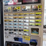 名代きしめん 住よし JR名古屋駅10・11番ホーム店 - 自動券売機