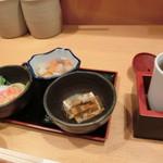ふぐよし 総本店 - 【銀福セット】2,480円「小鉢三品」