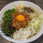 つけ麺丸和 - 汁なし煮干し台湾