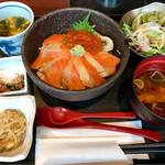64133305 - 海の親子丼 980円→カード掲示880円