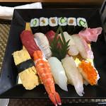 菊寿司 - にぎり大盛りランチ