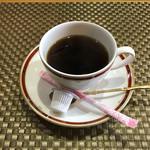 菊寿司 - 食後のコーヒー