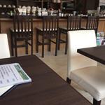 カフェハンズ - 店内カウンター席