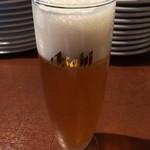 ラ・ブシュリー・近江 - グラスビール